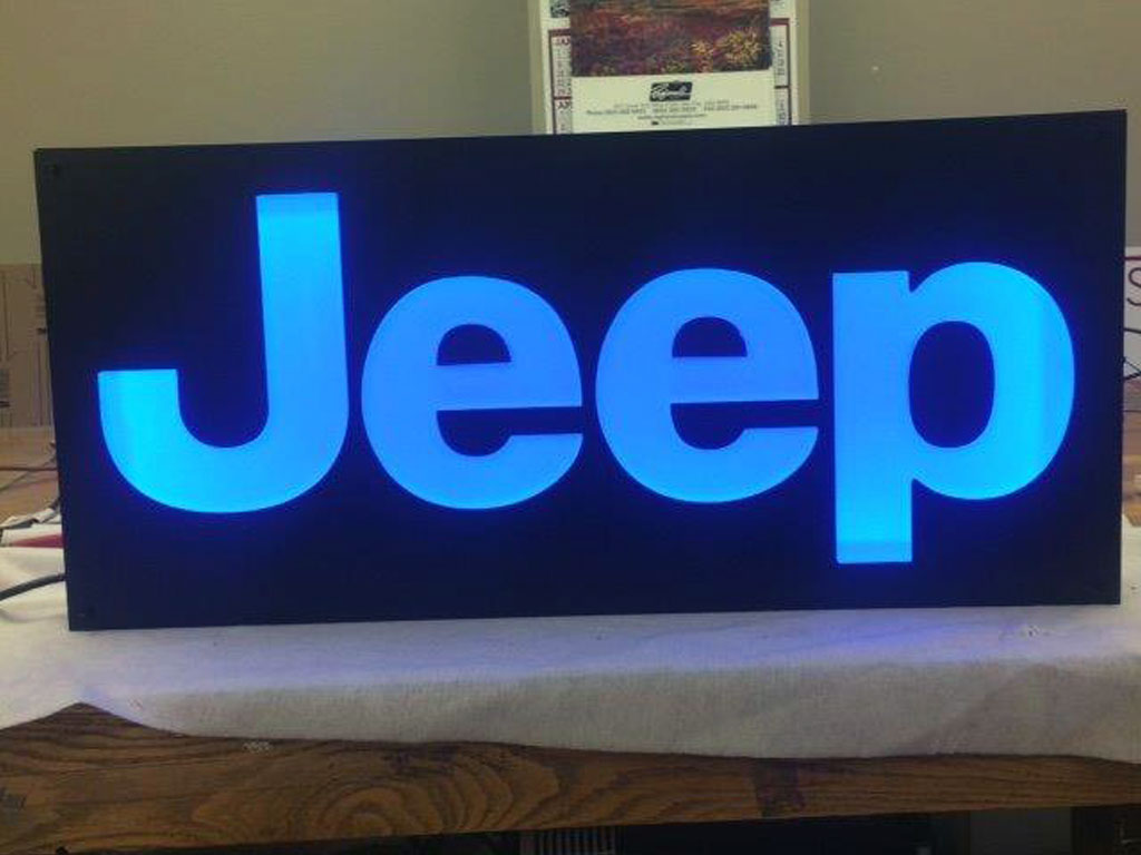 Indoor Light Up Specialty Signs Utah