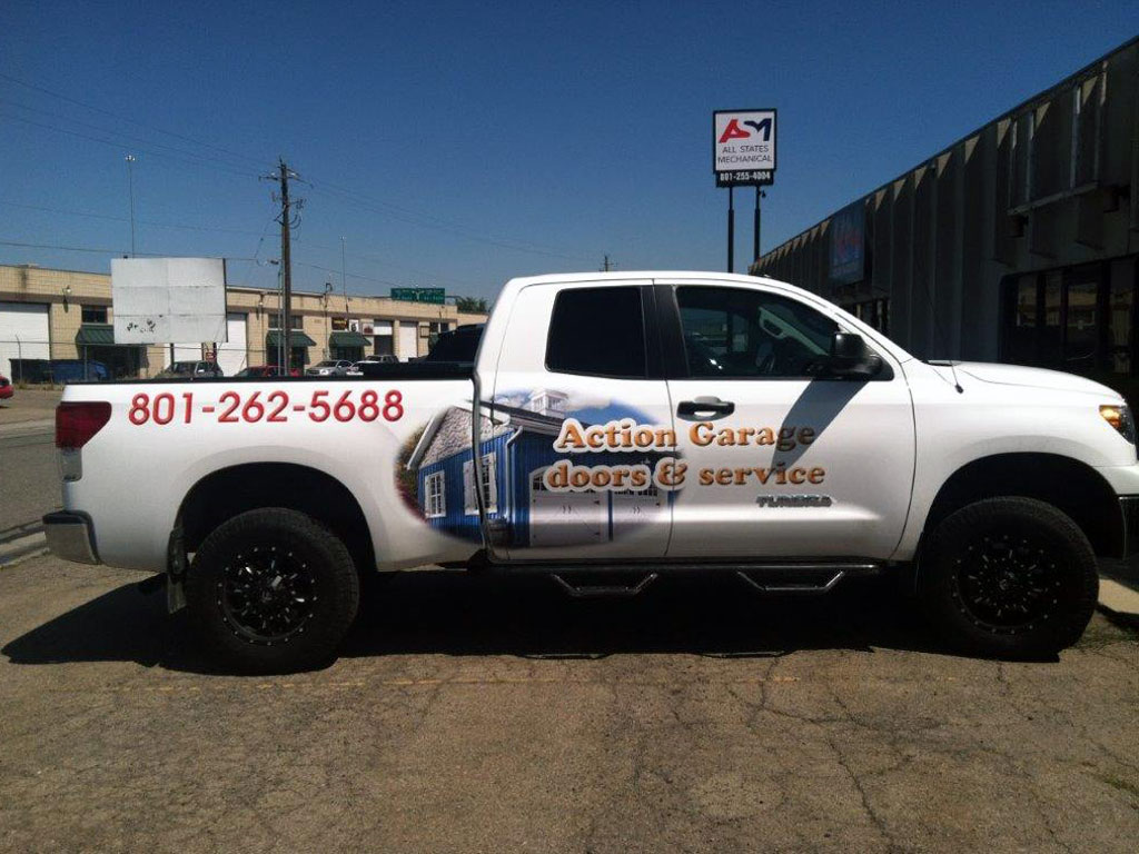 Vehicle Wrap Graphics Utah